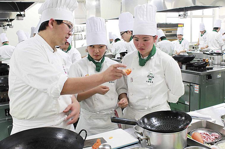 菜園調理師専門学校画像